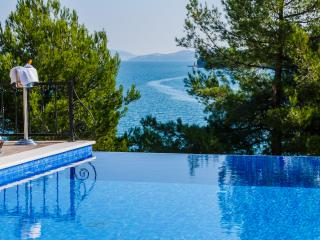 Front line villa with infinity pool near Trogir - Marina vacation rentals