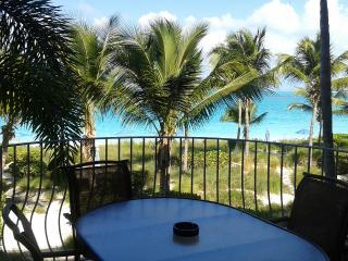 Two Bedroom Direct Beachfront Condo - Sleeps 4 - Providenciales vacation rentals