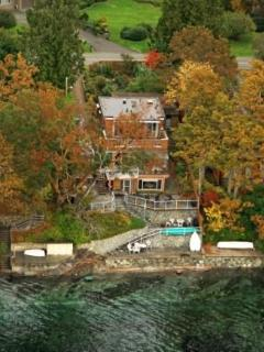 Absolute waterfront on the stunning Saanich - North Saanich vacation rentals