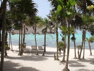 2 Bedroom Beach front Thatched Hideaway for 4-6 p. - Soliman Bay vacation rentals