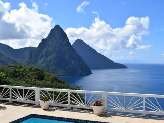 Romantic, serene, spacious, updated villa in Soufriere, the heart of St Lucia - Soufriere vacation rentals