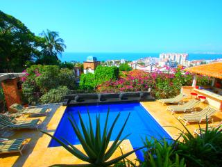4 to 9 Bdrm Villa Excellent Location,Full Staff - Puerto Vallarta vacation rentals