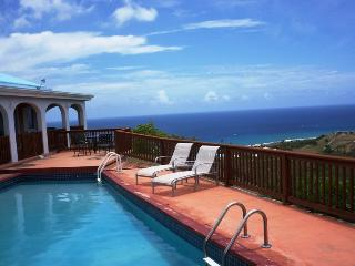 Ulo Udo with pool & sweeping views of Salt River - Frederiksted vacation rentals