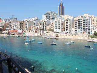 St Julian's Three Bedroom Seafront Apartment - Saint Julian's vacation rentals