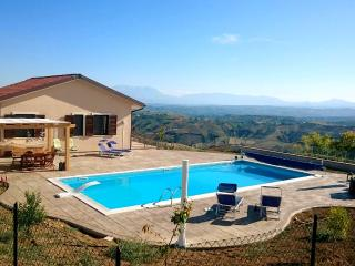 Modern villa with panoramic views & swimming pool - Atri vacation rentals