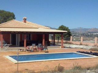 Villa 3 slaapkmrs 2 badkmrs  plaats voor 6 gasten - Aspe vacation rentals