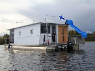 Houseboat Finland: Houseboat Comfort 32 m2/ 6 pers - Aanekoski vacation rentals