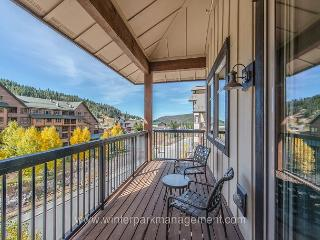2 bed/2 bath condo at Fraser Crossing! Great slopeside and village views! - Winter Park vacation rentals