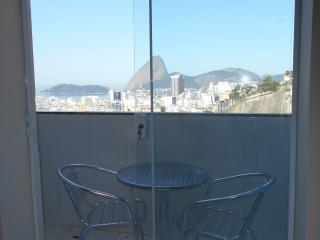 1 bedroom penthouse with veranda and fabulous view - Rio de Janeiro vacation rentals