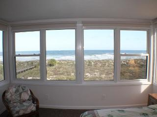 Queen of Quail, Direct Beach/Ocean Front, 3 Bedroom, 2 Bath, Upgraded Condo - Saint Augustine vacation rentals