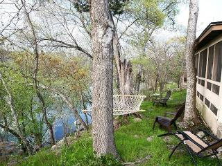 Charming Creekside Country Cabin w/Screened Porch - Wimberley vacation rentals