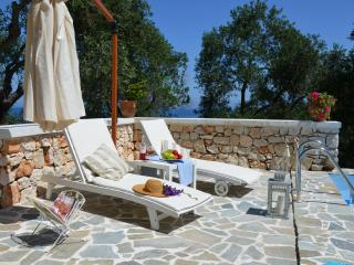 Sea View Unique studio with private pool - Gaios vacation rentals