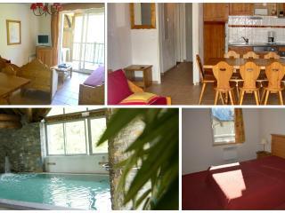 Saint Lary T5 4*10personnes piscine sauna spa ski - Saint-Lary-Soulan vacation rentals