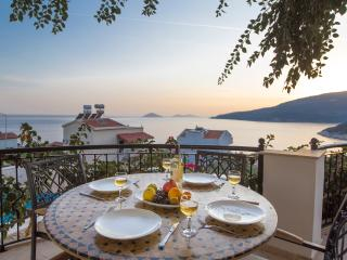 Lovely 2 Bed, 2 Bath Apartment with Great Seaviews - Kalkan vacation rentals
