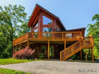 Custom Log Cabin- Hot Tub -  Views - Lake Lure - Lake Lure vacation rentals