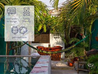 Eclectically cool budget-friendly Mérida home. - Merida vacation rentals