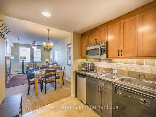 Walk to slopes from this Founders Point  condo  SLEEPS 5! Pool sized hot tub - Littleton vacation rentals