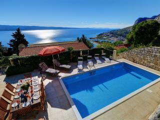 Villa with private pool and outstanding sea views - Omis vacation rentals