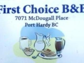 First Choice B&B - Port Hardy vacation rentals