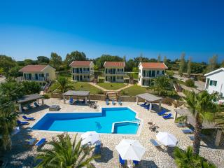 Liakas Village  apartment 5 - breakfast, pool, tennis court & uncut sea views. - Spartia vacation rentals