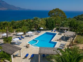 Liakas Village  apartment 4 - breakfast, pool, tennis court & uncut sea views. - Spartia vacation rentals
