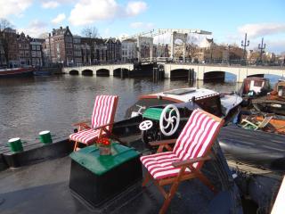 Lovely houseboat Amstel River (Skinny Bridge Boat) - Amsterdam vacation rentals