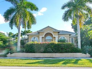 Spacious waterfront house on corner lot w/ heated pool & short walk to beach - Marco Island vacation rentals