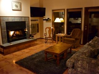 On the slopes with expansive views of ski hill - Angel Fire vacation rentals