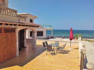 045 Detached house, right on the beach - Son Serra de Marina vacation rentals