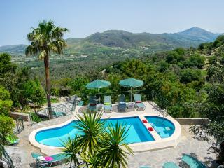 Kefali, Stunning Views & Pool, 6 Bedrooms! - Plakias vacation rentals