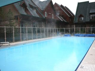 Mountain View Condo With Pool and Hotub - Canmore vacation rentals