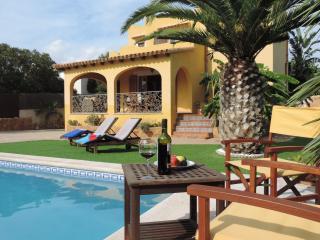 VILLA AND POOL AT THE BEACH OF CALA PI - Cala Pi vacation rentals