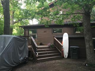 Few weeks left. Block 2 Beach. Private. Golf Cart. - New Buffalo vacation rentals