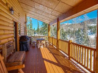 Sunny cabin close to skiing w/ wrap-around deck & entertainment! - Brian Head vacation rentals