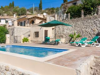 Charming Villa with Balcony and Microwave in Puigpunyent - Puigpunyent vacation rentals