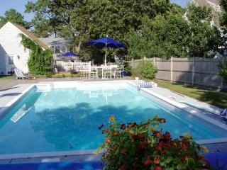 Heated pool, steps to private beach, Harwich:023-H - West Harwich vacation rentals