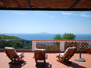 Charming Apartment Near Sorrento Overlooking Gulf of Naples  - Nerida - Sant'Agata sui Due Golfi vacation rentals