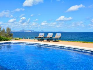 Luxurious Sea Front Villa with pool Mallorca Beach - Arta vacation rentals