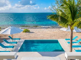 Beachfront villa with magnificent views, especially from the dining area. TNC OCE - Grace Bay vacation rentals