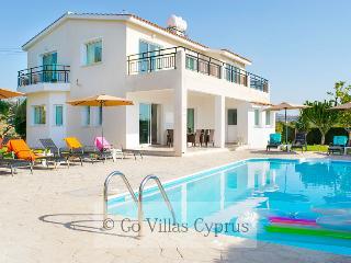 4BR luxury modern villa, private pool, garden,wifi - Peyia vacation rentals