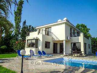 4 BR villa with stunning sea and sunset views,wifi - Kissonerga vacation rentals
