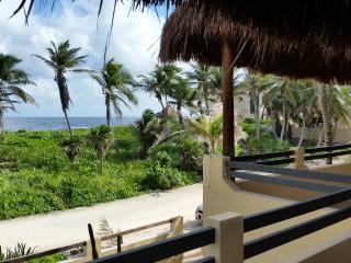 ocean front 2 bedrom house Tobala del Mar - Tulum vacation rentals