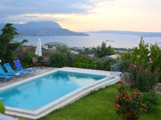 Bay View Villa with private pool and amazing views - Almyrida vacation rentals