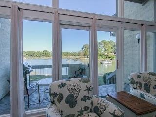 1606 Port Villa - Stunning views of Braddock Cove & Steps to the Marina. - Hilton Head vacation rentals