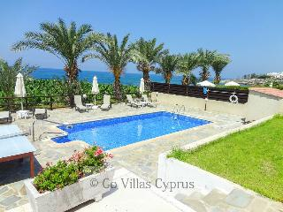Seafront 3BR comfortable villa, private pool, wifi - Kissonerga vacation rentals