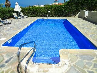 3BR-3BA Seafront Villa,private pool,stunning views - Kissonerga vacation rentals