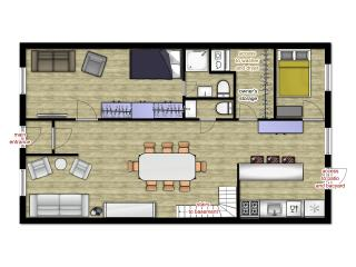 5 bedroom apartment on 2 levels, sleeps 10+ - Montreal vacation rentals