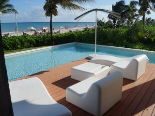 Ocean Front Presidential 3 bedroom swim out condo - Playa del Carmen vacation rentals