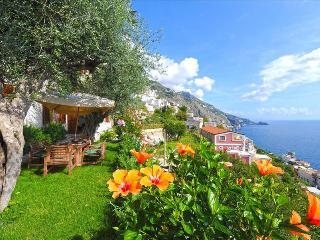 PR133-Landscaped garden with fascinating views of the sea.  Luxury Villa - Praiano vacation rentals