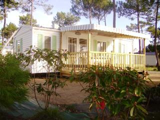 Convenient Caravan/mobile home with Internet Access and Satellite Or Cable TV in La Palmyre-Les Mathes - La Palmyre-Les Mathes vacation rentals